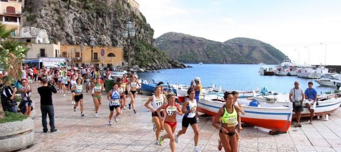 XIV° Giro Podistico a Tappe delle Isole Eolie 2014