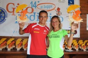 I vincitori Salvatore Franzese e Gloria Marconi