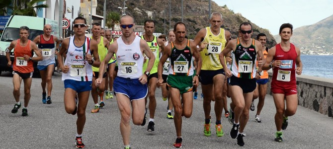 Classifica Generale dopo la II Tappa di Lipari Eolie Running Tour 2015