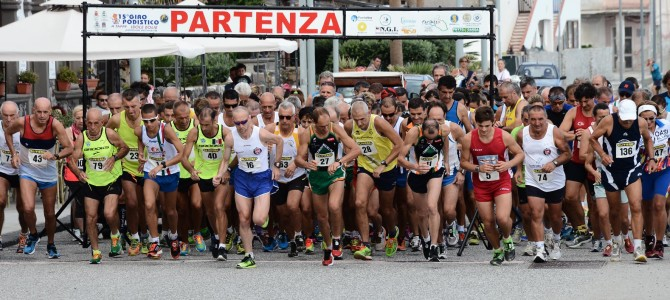 Classifica II Tappa Lipari Eolie Running Tour 2015