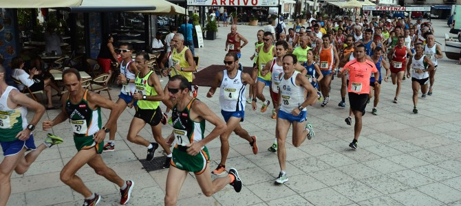 Classifica IV Tappa Lipari Eolie Running Tour 2015