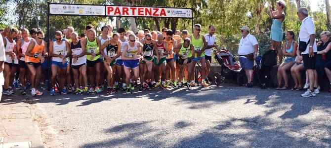 Classifica Generale dopo la V Tappa di Vulcano Eolie Running Tour 2015