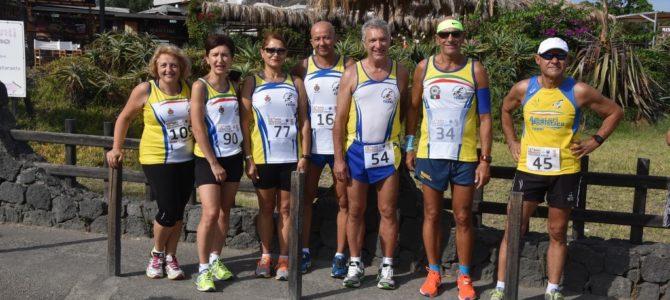 Classifiche 16° Giro podistico a tappe delle Isole Eolie – Prima Tappa Vulcano NC