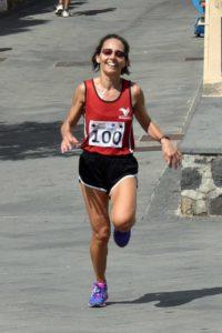La vincitrice Paola Zaghi