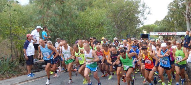 """Il """"17° Giro Podistico a Tappe delle Eolie"""" tra sport e turismo"""