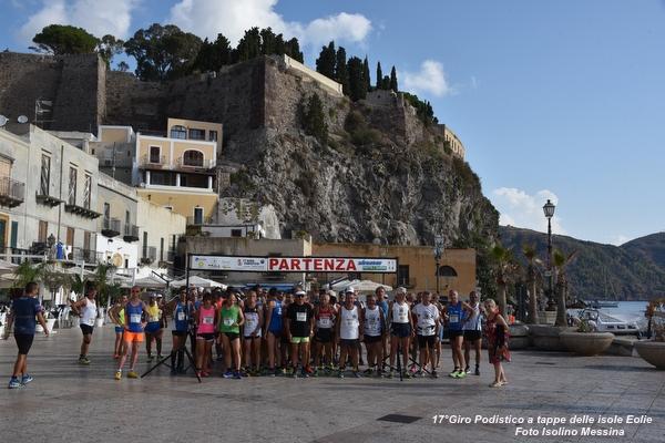 Foto Quarta Tappa Lipari – 17° Giro Podistico delle Isole Eolie